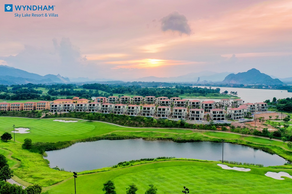 tit Mặt Bằng Wyndham Sky Lake Resort & Villas