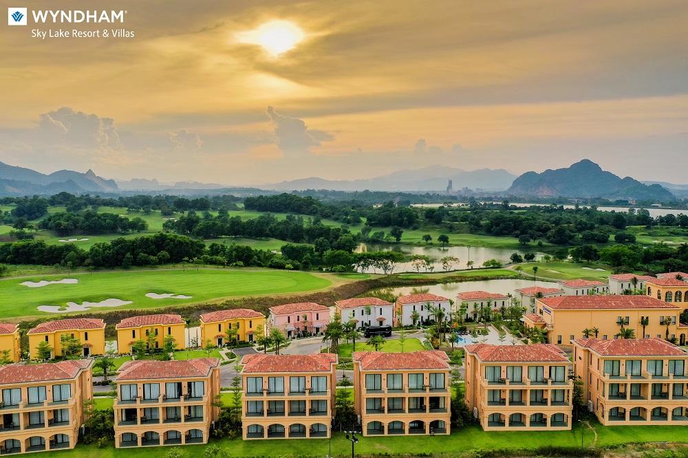 tit Lựa chọn không gian nghỉ dưỡng ven đô với biệt thự Wyndham Sky Lake Resort & Villas