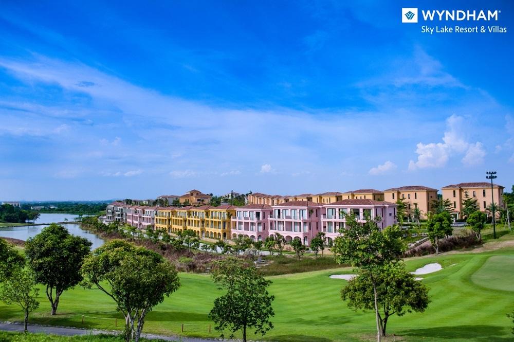 tit Tiến độ dự án Wyndham Sky Lake Resort & Villas cập nhật mới nhất 2021