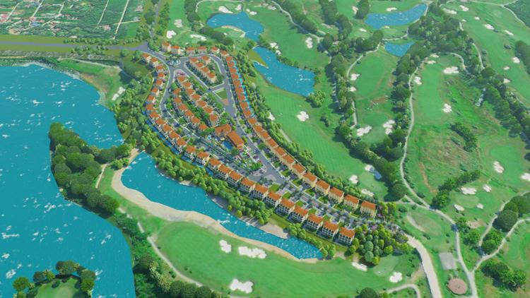 tit Ra mắt biệt thự sân golf Wyndham Sky Lake Golf Resort & Villas