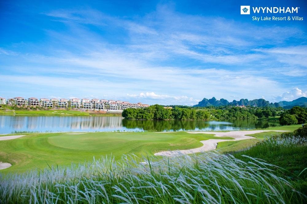 tit 3 màu sắc nổi bật tại 3 phân khu Wynham Sky Lake Resort & Villas