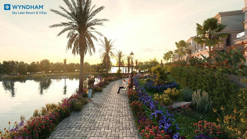 tit Wyndham Sky Lake nơi hội tụ cộng đồng tinh hoa trong không gian sinh thái ngoại thành Hà Nội
